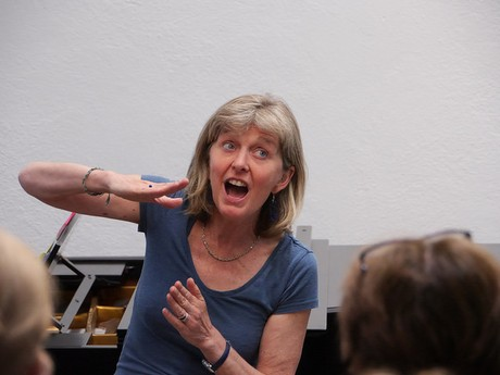 Rowena Whitehead, Choir Leader for Cycle of Songs