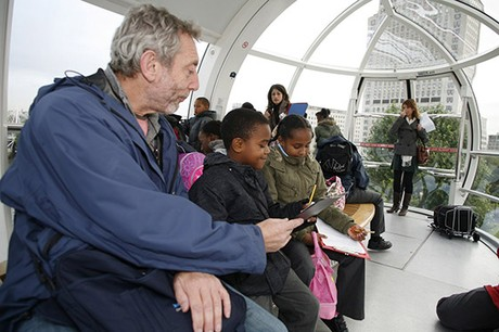 Michael Rosen launching Children's Book Week, 2008