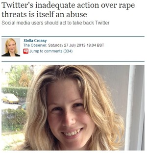 27 July Stella Creasy Twitter's inadequate
